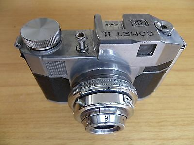 BENCINI COMET 11 S 127 film camera with case & instructions VG