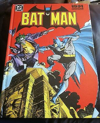 Vintage DC Comics Batman Annual 1991 Hardback Good Condition