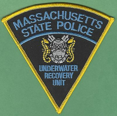 Massachusetts State Police Underwater Recovery Unit Dive Team Patch