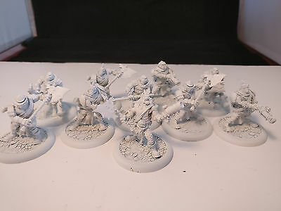 *Unpainted* Warmachine/Hordes Mercenary Minions Trollbloods Boomhowlers Unit