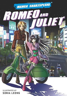 Manga Shakespeare: Romeo and Juliet, Good Condition Book, Sonia Leong, William S