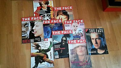 The Face Magazine - issues from the 80's and 90's from the style bible