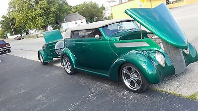 1937 Ford Phaetom cross country cruiser with matching trailer...