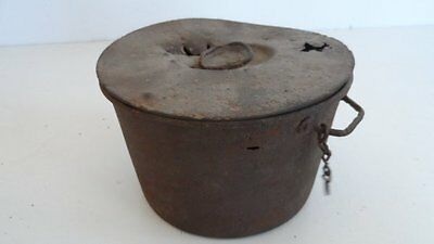Ww1 French Mess Tin With Lid.  Ypres