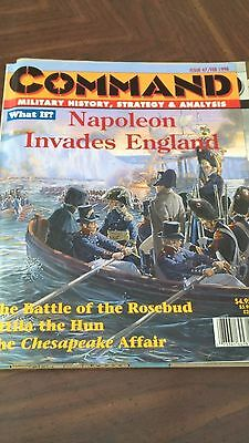 Command Magazine Issue 47 Napoleon Invades England Game (Unpunched)