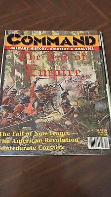 Command Magazine Issue 46 1914 The End Of Empire Game Unpunched