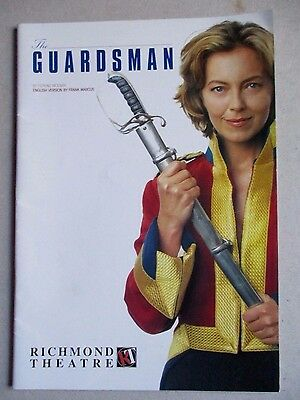 Theatre Programme-The Guardsman-Richmond Theatre -Greta Scacchi- Georgina Hale