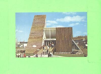 K Postcard The Vermont Pavillon At Expo 67 Montreal