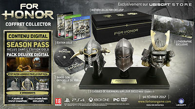 """For Honor Collector's Edition Ps4 English Version """"new"""" Complete"""