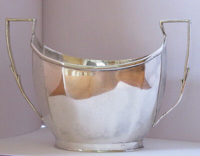 Vintage Mappin and Webb Prince's Silver plate sugar bowl and silver plate jug
