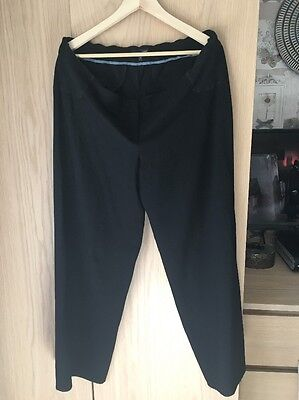 Black Next Maternity Trousers Size 16R