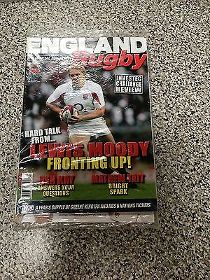 England Rugby World Cup Official Team Souvenir Magazine