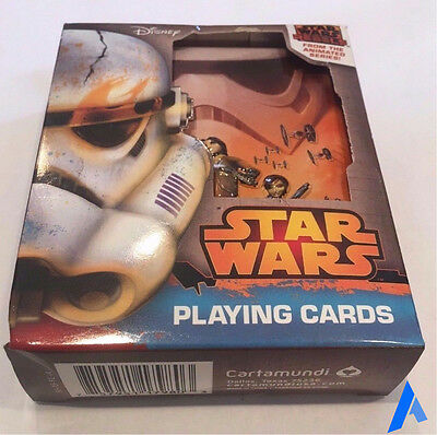 *NEW* Star Wars Rebels Playing Cards In Collectible Tin