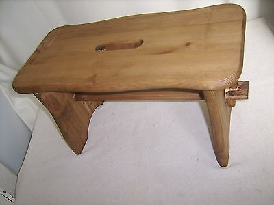 Antique Style Solid Pine Milking Stool
