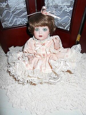 """JDK Reproduction, Mold # 237, All porcelain doll, """"Hilda"""", 10"""", Beautiful doll"""