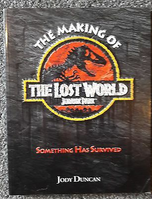 The Making of The Lost World, Jurassic Park, Jody Duncan, dinosaurs,
