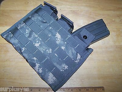 M4 Magazine Pouch MOLLE ACU Military Police Army Infantry Airborne Shingle P38