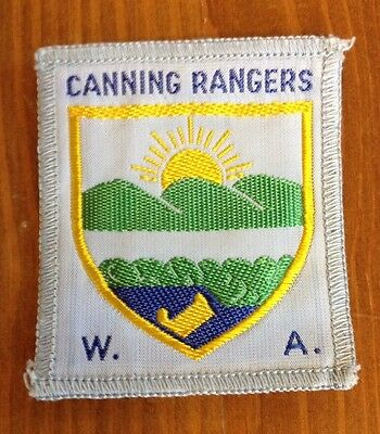 Scout Guide cloth badge