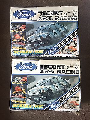 2 X C676 Scalextric Ford Escort Xr3i Racing Sets - More Listed - Cheap