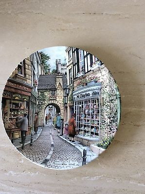 Royal Doulton Window Shopping Collector Plate By Colin Warden The China Shop