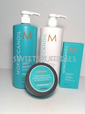 Moroccanoil Hydrating Shampoo and Conditioner 33.8oz/ 1L Combo Set