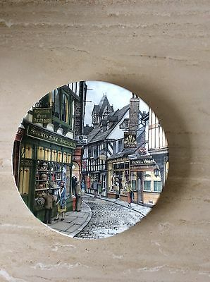 Royal Doulton Window Shopping Collector Plate By Colin Warden The Antique Shop