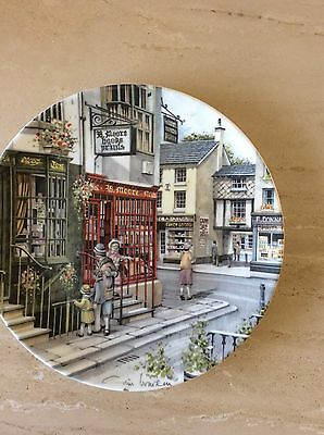 Royal Doulton Window Shopping Collector Plate By Colin Warden The Book Shop