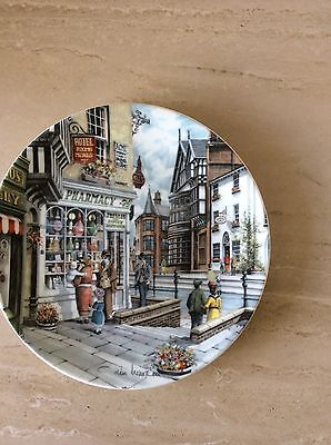 Royal Doulton Window Shopping Collector Plate By Colin Warden The Pharmacy