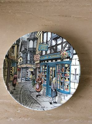 Royal Doulton Window Shopping Collector Plate By Colin Warden The Toy Shop