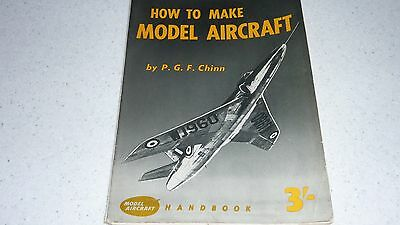 How to Make Model Aircraft by Peter Chinn (balsa models)
