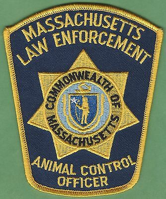 Massachusetts State Law Enforcement Animal Control Officer Police Patch