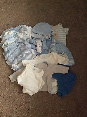 Baby Boy Bundle Of 21 Items Size 0-3