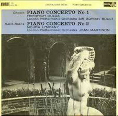 Chopin: Piano Concerto No. 1 - Saint-Saens: Piano Concerto No. 2