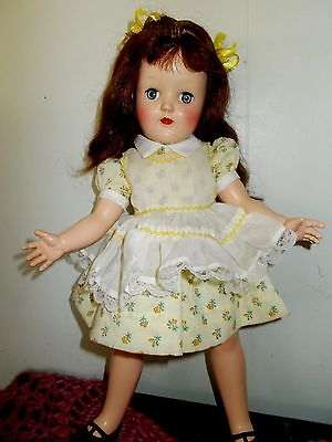 Vintage Ideal Deal Toni Doll P-91 1950,s 15 Inch
