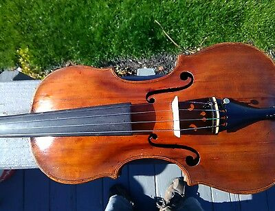Late 18th Century Italian? Violin 4/4 Circa 1790's Antique! Reduced for Summer!