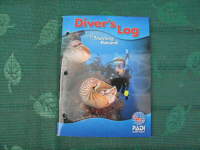 Padi Divers Log Book & Training Manual New Great Condition Not Used As Pics Show