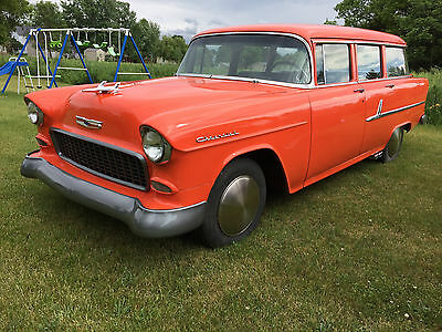1955 Chevrolet Bel Air/150/210 bel air / 210 1955 Chevy Wagon LOW RESERVE