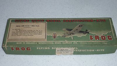 FROG Fairey Barracuda 500K series rubber flying model collector's kit