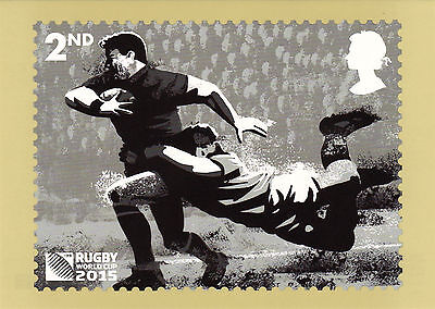 2015 RUGBY WORLD CUP NEW SEALED PHQ POSTCARDS SET OF 8. No 407.