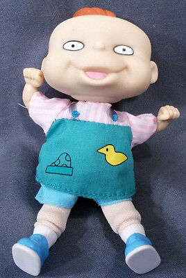 "1997 Vintage Rugrats Lil Doll 4.75"" Lillian Soft Body Rubber Head Viacom"