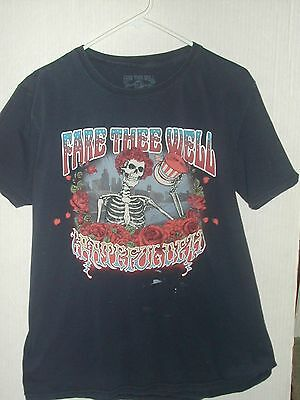 Grateful Dead Fare Thee Well Soldier Field Chicago Concert Tour T-Shirt Large L