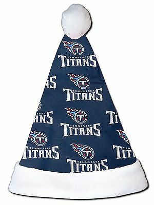 1c3d43cab2169 NEW NFL Tennessee Titans Christmas Football Santa Hat Personalized 18