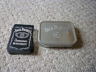 Jack Daniels Playing Cards and tobacco tin