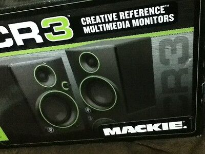Mackie CR Series CR3-3-Inch Creative Reference Monitors (Pair)