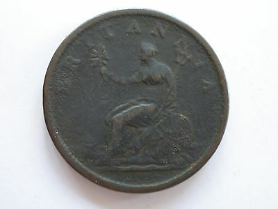 1806 George Iii Copper Penny - Vg