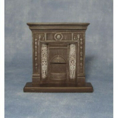 Dolls House Miniature 1:12th Scale Cast Iron Fireplace