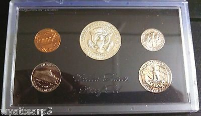 1969 US Coin Proof Set Penny Nickel Dime Quarter Kennedy Half Dollar