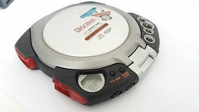 SONY D-EG7 Groove ESP2 Discman Personal CD Player  Working LETTORE CD anti shock