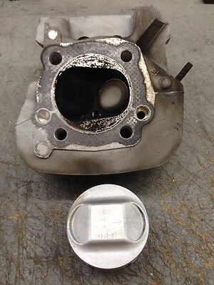 03-06 Buell XB Front Cylinder Head And XB9 Piston- Blast (Search: Screamin)