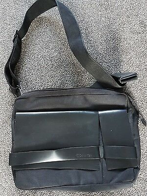 Calvin Klein Messenger Bag/Flight Bag. New without tags, part leather.